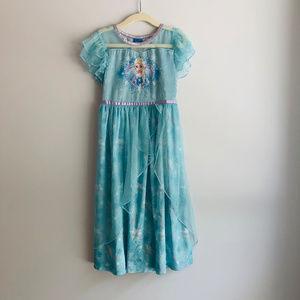 Disney Princess Frozen Elsa Nightgown Sleepwear